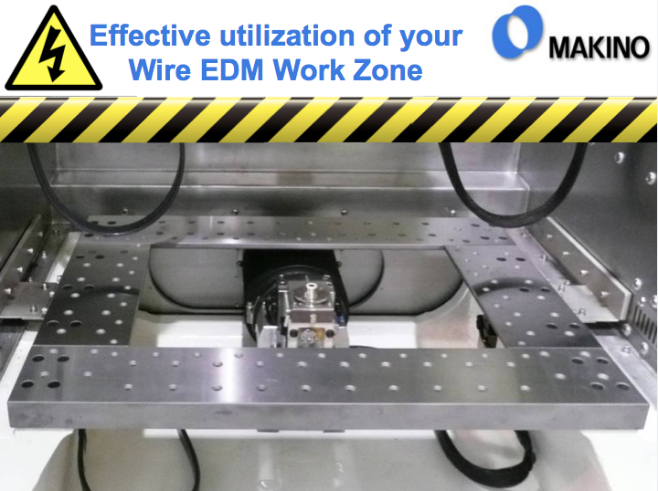 Effective utilization of your Wire EDM work zone