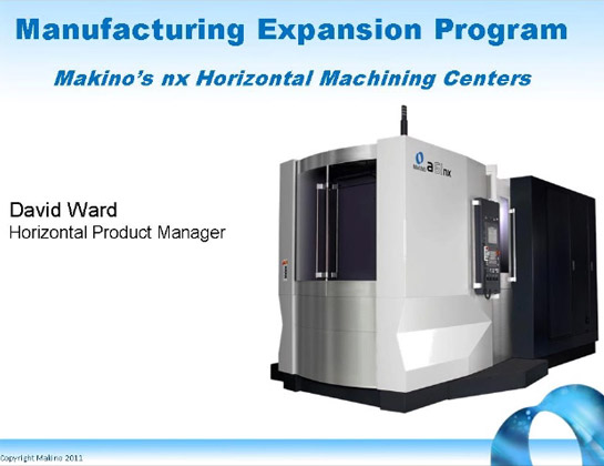 Manufacturing Expansion Program, the Next Generation of HMCs