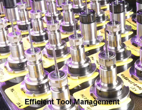 More Efficient Tool Management
